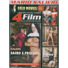 4 Film In 1 Dvd: Sacro E Profano, Tentazioni Proibite...